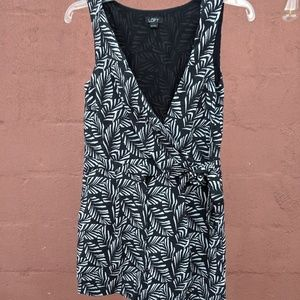 Loft Palm Leaf Romper